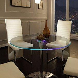 Home Creek Elysium LED Dining Table - Tables