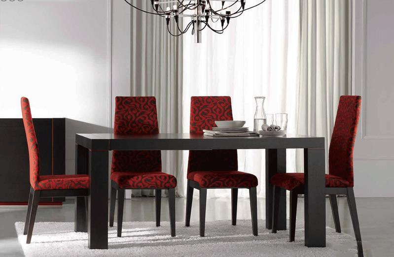 6 ultra modern dining rooms for Ultra modern dining room