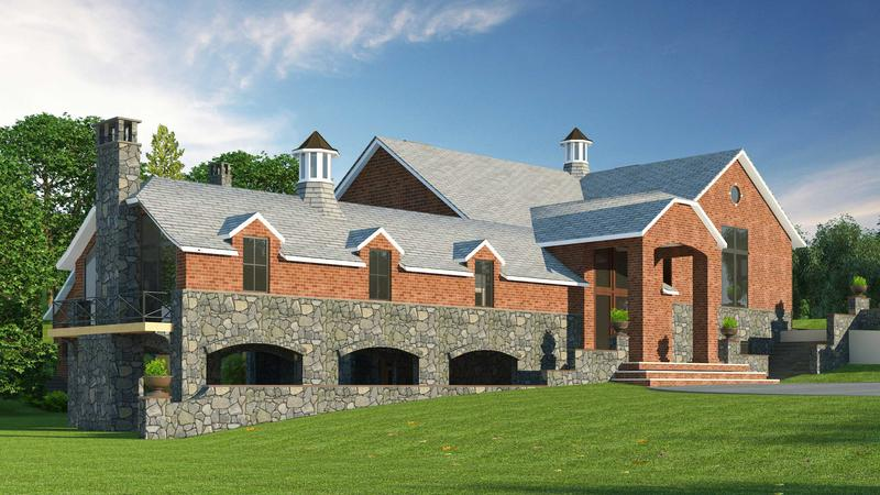 Architectural 3D Exterior Rendering Services NYC