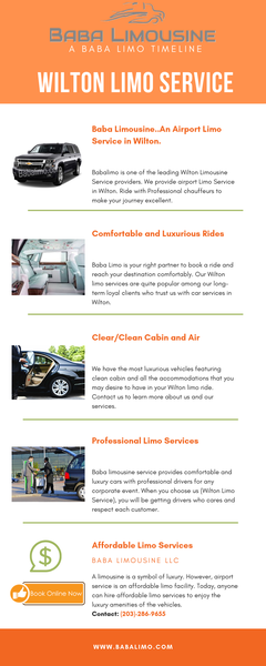 Wilton Limousine Service | Baba Limo