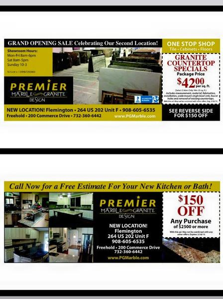 Granite Countertop Specials Package Price $42.00 per sq.ft.