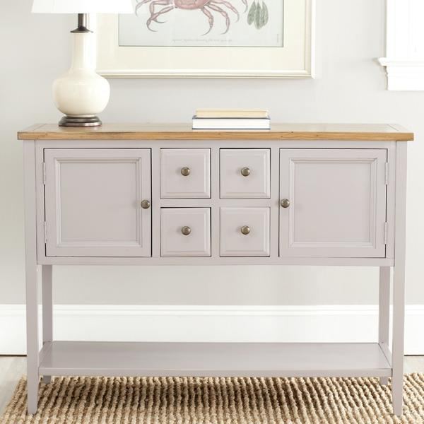 Safavieh American Homes Collection Charlotte Sideboard, Grey - Buffets & Sideboards