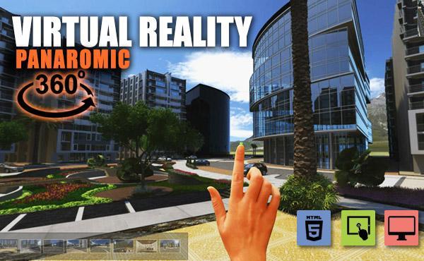 360 Virtual Reality Apps Web Based Application by Yantram virtual reality studio New york