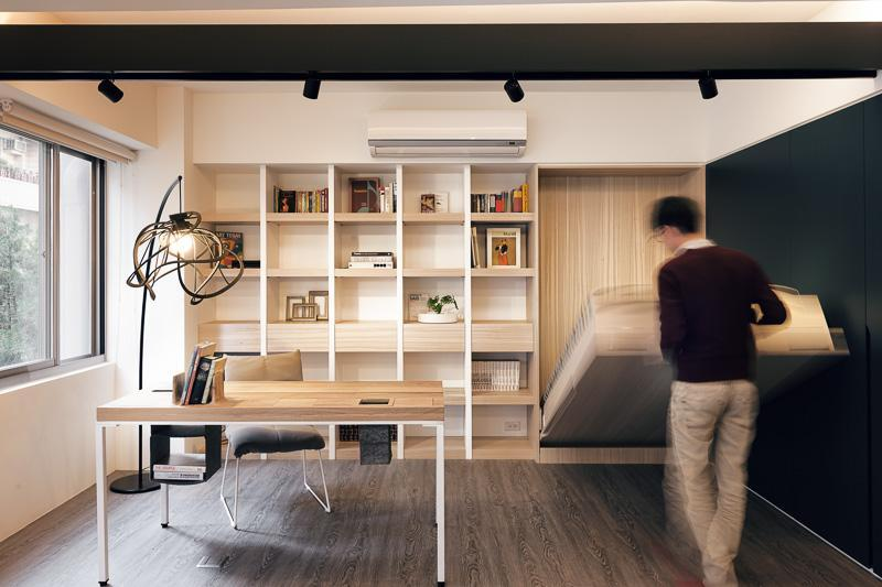 home office murphy bed. Bi - Fold Murphy Bed An Extra Space Provider Home Office U