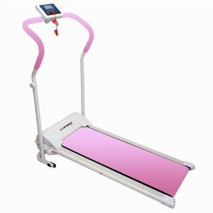 Amazon.com : Confidence Power Plus Motorized Fitness Treadmill Pink : Exercise Treadmills : Sports & Outdoors