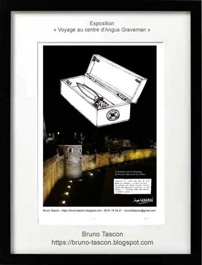 Bruno Tascon affiches publicitaires graphiste VANNES MORBIHAN BRETAGNE