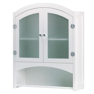 Space Saver Wall Cabinet with Glass Door
