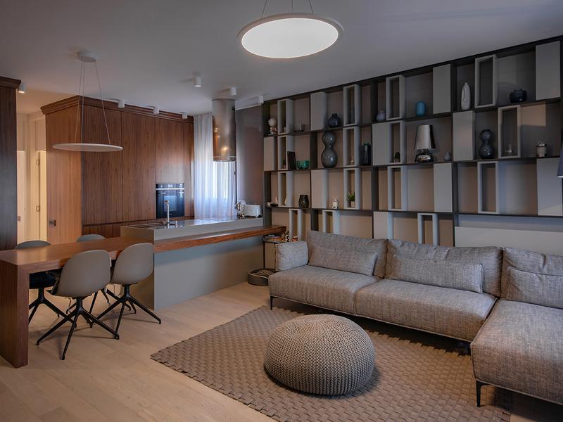 Modern bookshelf TIVOLI