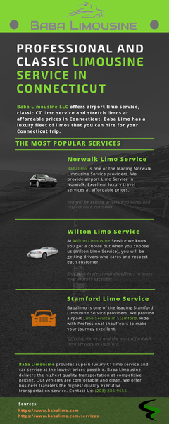Professional and Classic Limousine Service in Connecticut