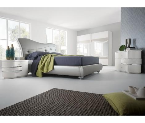 Ametista Modern Platform Bedroom Set , Made in Italy