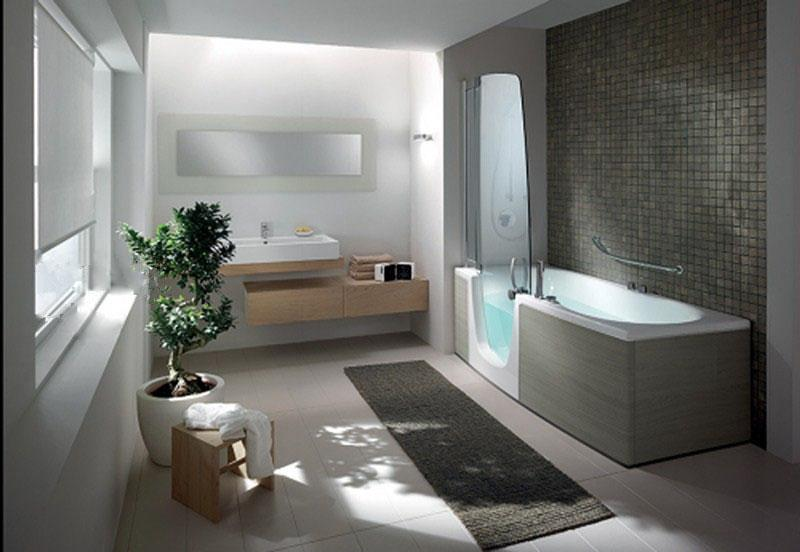 bathtubs selection for small or large bathrooms - Large Bathroom Designs