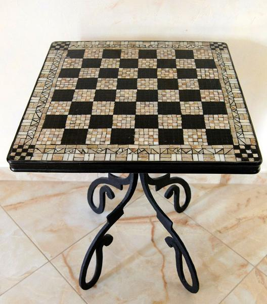 Chess table «Gambit» - YOU Gallery