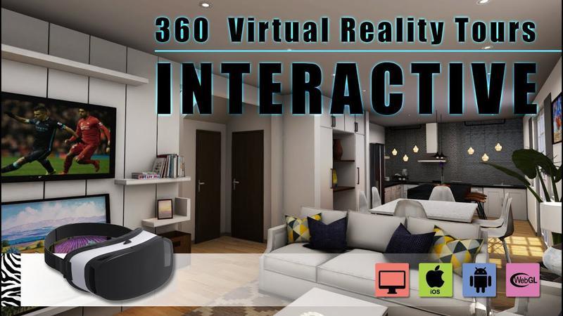 Interactive 360 Virtual Reality Tours walkthrough & Mobile App Development - (Unity3D, Android, iOS) Mesquite, Nevada