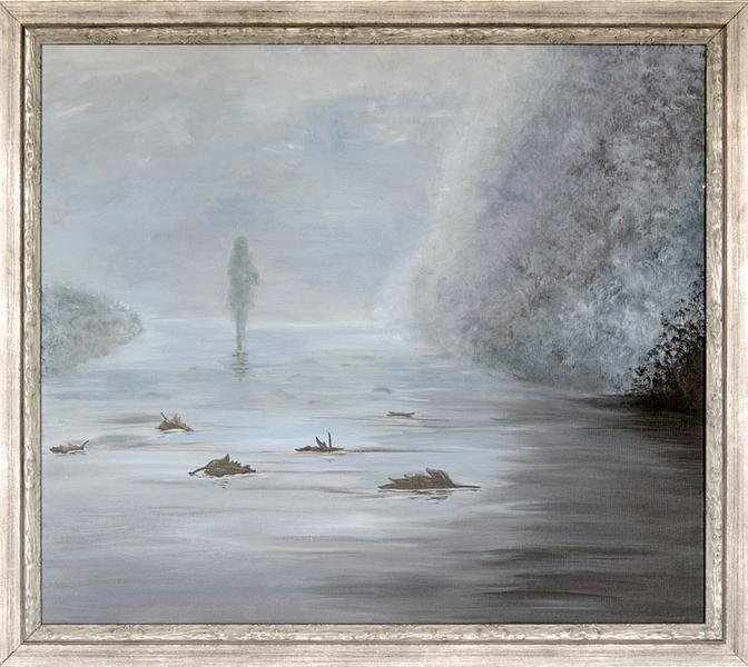 Painting «Misty morning» - YOU Gallery