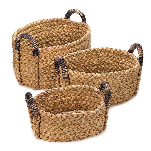 The Gorgeous Rustic Woven Nesting Wicker Baskets