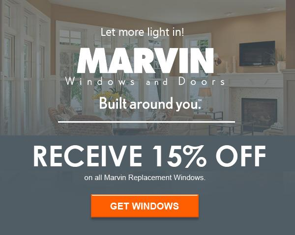 15% Off All Marvin Window Installation this Spring!