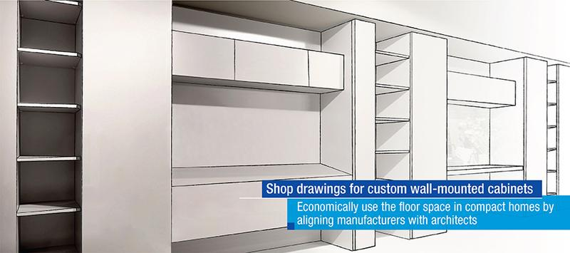 Custom Wall Mounted Cabinets: Unique Design to Fit your Space