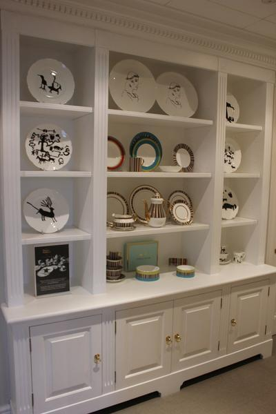 Crockery unit china cabinets designs storage for Cupboard cabinet designs