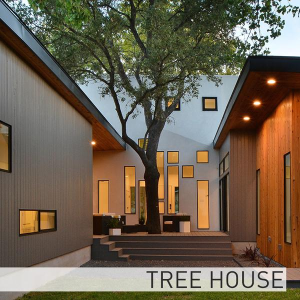 Tree House Matt Fajkus Architecture - Sustainable Residential
