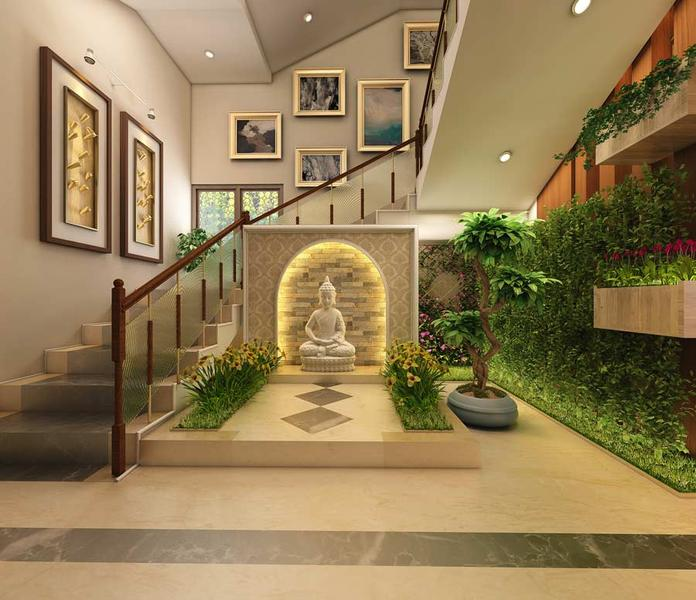 3d architecutal  Interior rendering