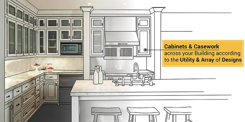 Custom Cabinet designs and Casework Drawings for Architects