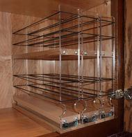 222x2x11 Maple Spice Rack Drawer Buy Spice Racks Vertical Spice