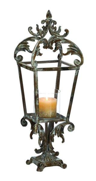 Metal Lantern with Contemporary Style Class Apart Design | Vintage Gifts Unlimited