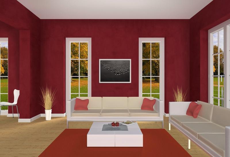 Interesting Orange Color Scheme Bedroom Ideas