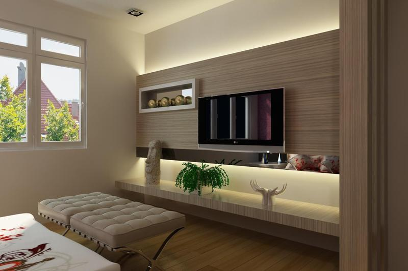 Nice LED TV Panels Designs For Living Room And Bedrooms