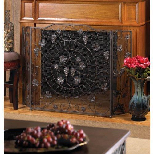 Vineyard Estate Fireplace Screen