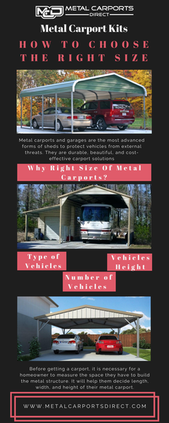 Metal Carport Kits: How To Choose The Right Size