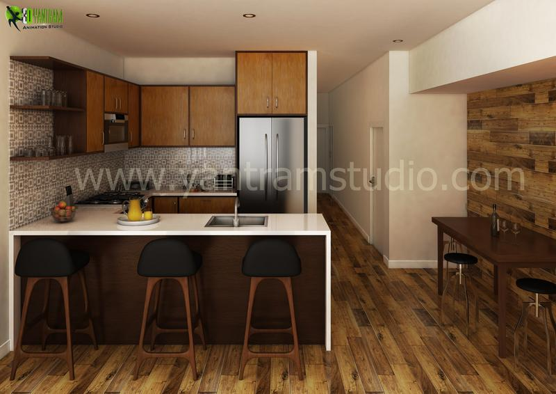 Kitchen  Designer  - Know How The Desire Kitchen Will Look, Even Before It's Built
