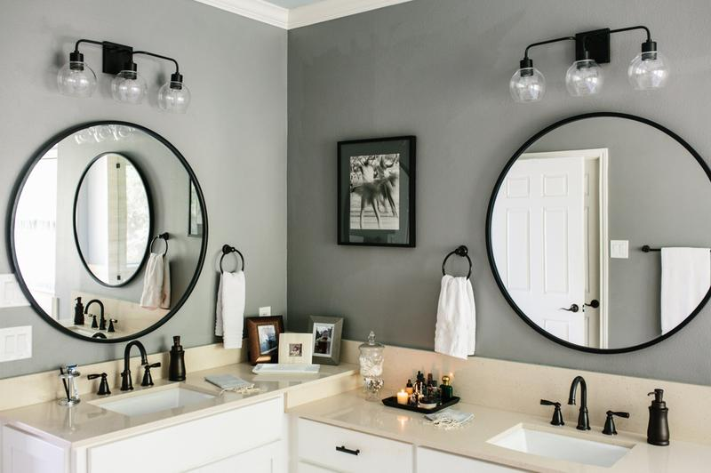 Bathroom Renovation Project - Ivory White Countertops