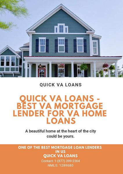 Quick VA Loans - Best VA Mortgage Lender For VA Home Loans