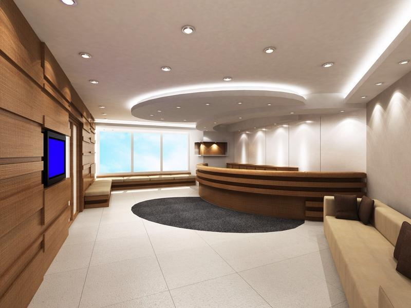 Reception Designing Hotel Office And Hospital