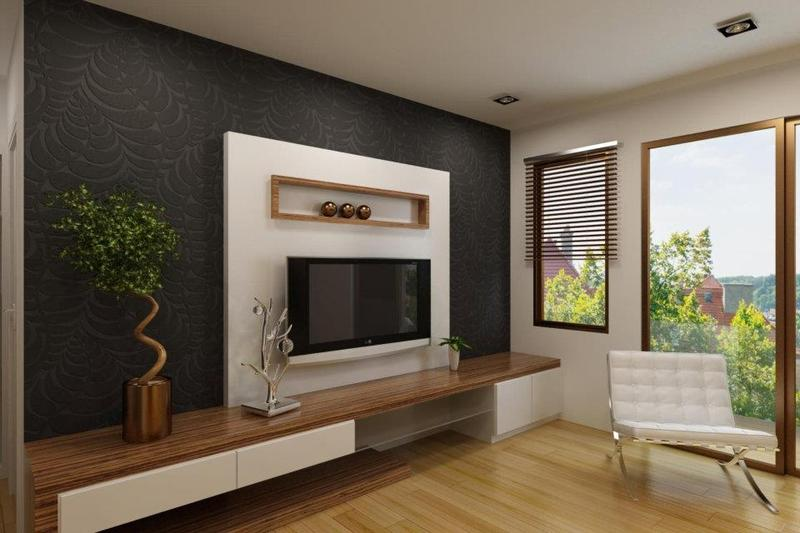 led tv panels designs for living room and bedrooms - Designs For Pictures On A Wall