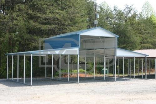 Shop for Economical Metal Barn Kits at Metal Carports Direct
