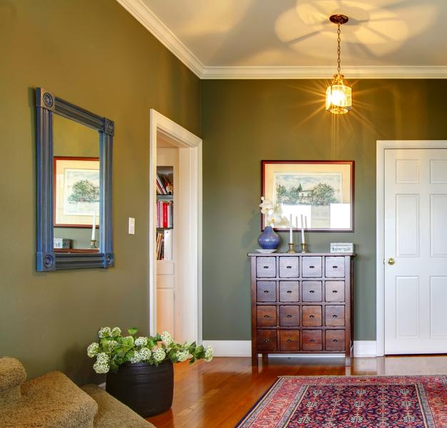 Monochromatic Interior Color Schemes