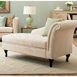 Storage Chaise Lounge Luxurious Tufted Classic/traditional Style -
