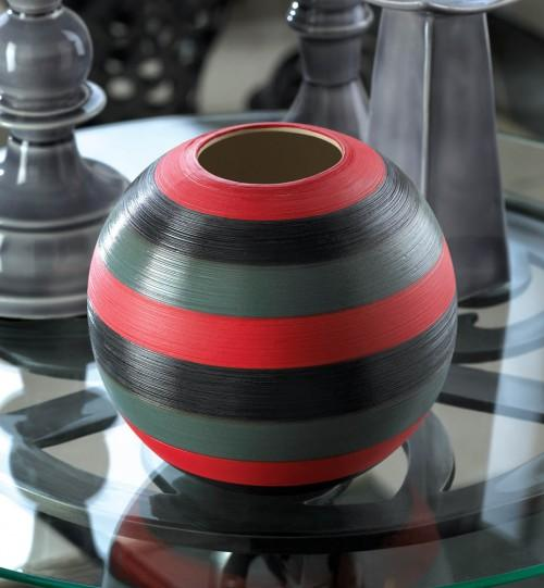 The African Safari Round Vase