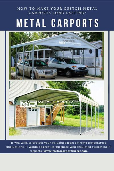 Shop Custom Metal Structures Online from Metal Carports Direct