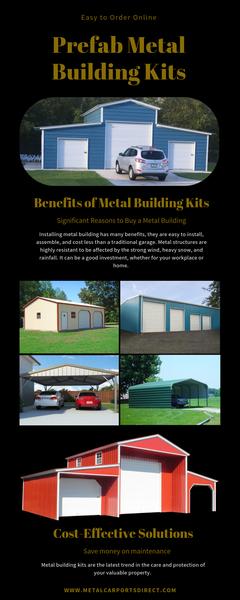 Prefab Metal Building Kits | Metal Carports Direct