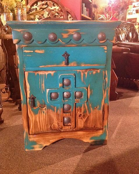 Cathedral Nightstand | Western Furniture | Rustic Home Decor