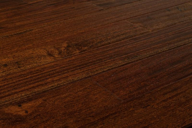 Mazama Hardwood - Handscraped South American Collection Brown Stone / Cumaru / Builders / 5""