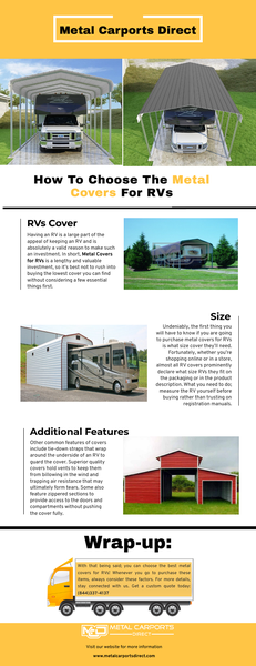 How To Choose The Metal Covers For RVs