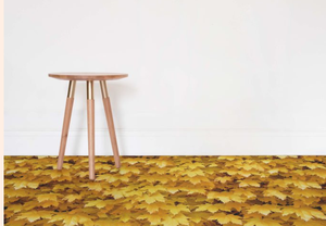 Harvest -  Autumn Leaf Vinyl Flooring