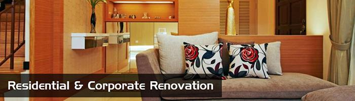 Residentail and Corporate Renovation