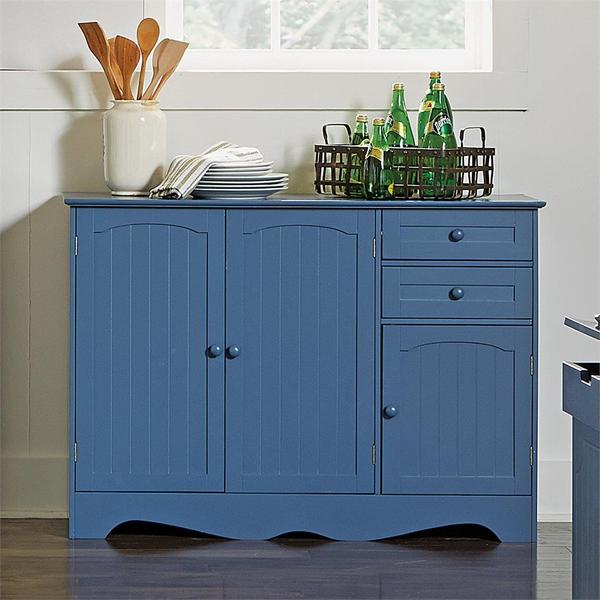 Brylanehome Country Kitchen Buffet (Blue)