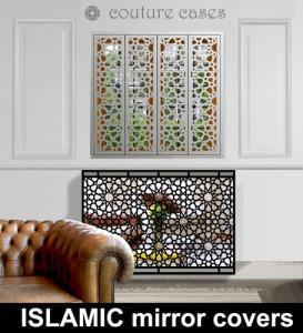 Mirror radiator covers and mirror radiator cabinets I Custom Designs