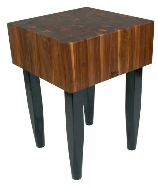 Walnut Butcher Block | Butcher Block with Legs | Hat Creek Interiors